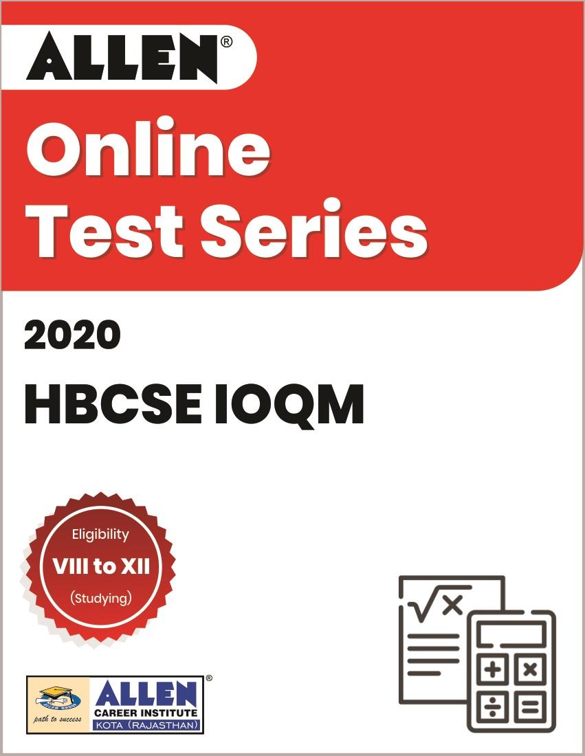 Online Test Series for HBCSE IOQM 2020