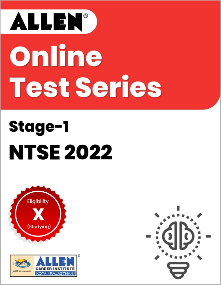 Online Test Series for NTSE 2022 Stage-I