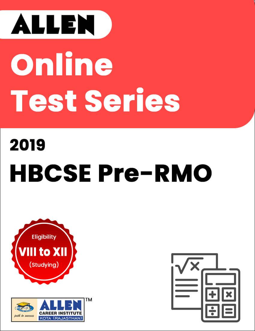 Online Test Series for HBCSE Pre-RMO 2019