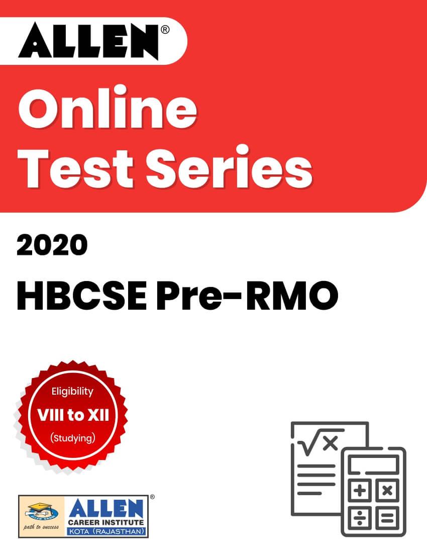 Online Test Series for HBCSE Pre-RMO 2020